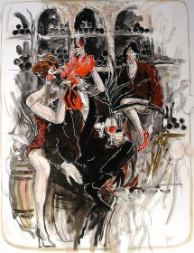 Barolo Freak Original 1341 Acryl/Oel auf Leinwand  90 x 70 cm